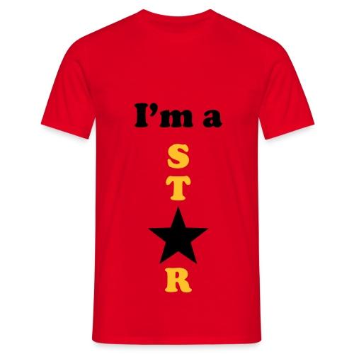 I'm a Star - Männer T-Shirt