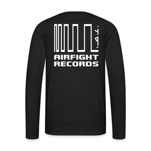 AIRFIGHT records long sleeve - Men's Premium Longsleeve Shirt
