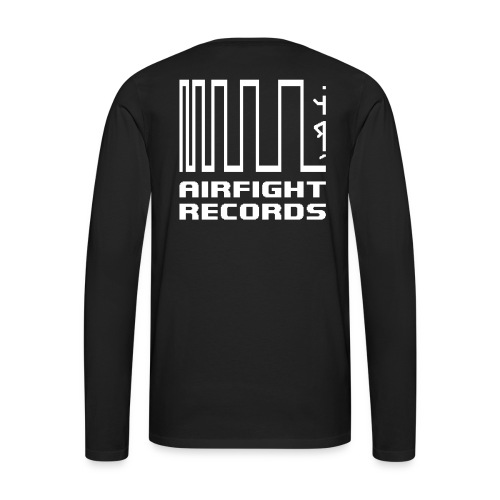 AIRFIGHT records long sleeve - Men's Premium Longsleeve Shirt