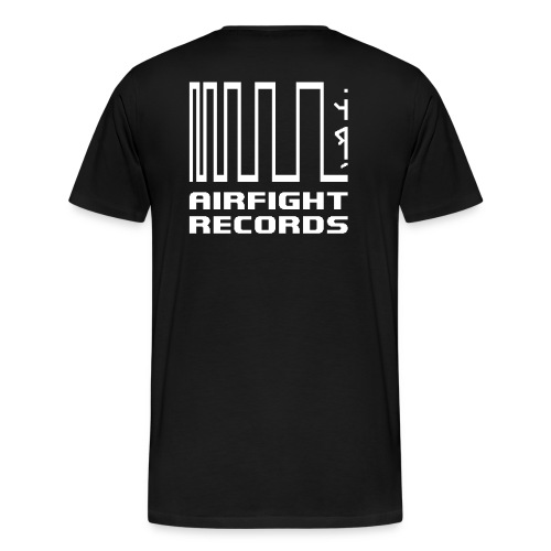 AIRFIGHT records t-shirt - Men's Premium T-Shirt