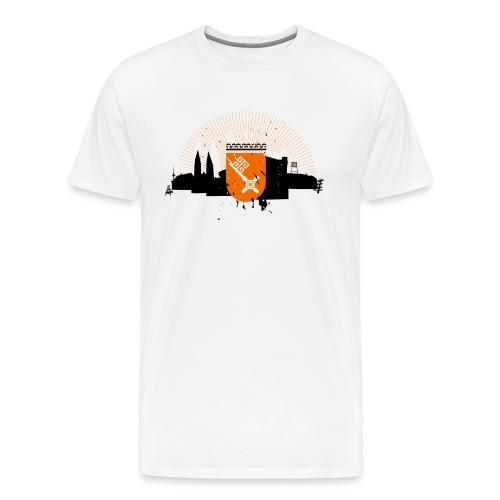 BREMEN SILHOUETTE - Männer Premium T-Shirt