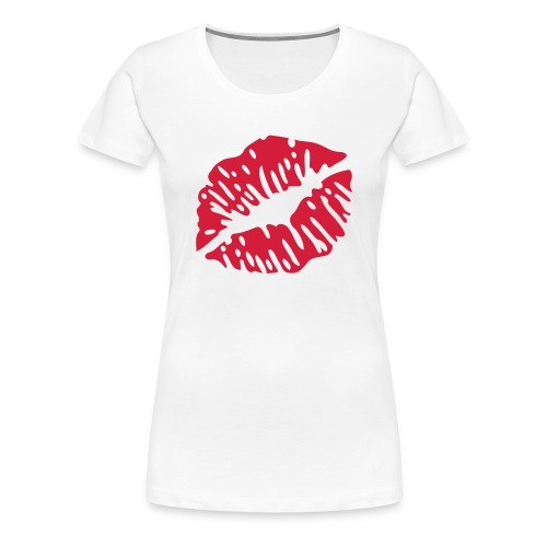 kiss shirt - Frauen Premium T-Shirt