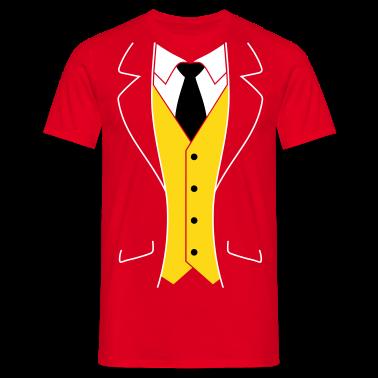 Tuxedo t shirts t shirt spreadshirt for Tuxedo shirt vs dress shirt