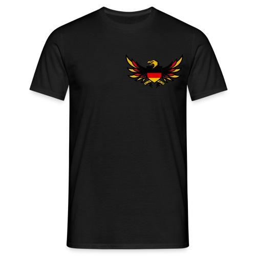Den Adler auf der Brust - Männer T-Shirt