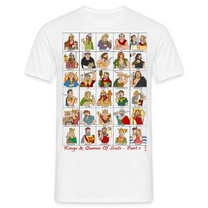 Kings & Queens of Scots (Front & Back) - Men's T-Shirt