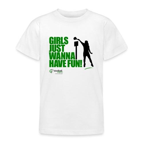 Girls Just Wanna Have Fun T-Shirt - Teenage T-shirt