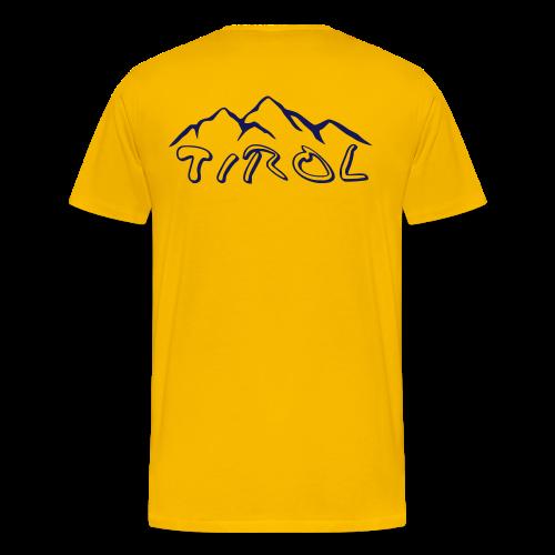 Tirol T-Shirt - Männer Premium T-Shirt