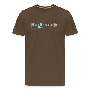 Mark Beerell  Fan-shirt/braun - Männer Premium T-Shirt