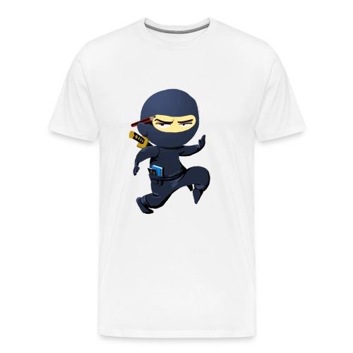 pilotprojectninja - Männer Premium T-Shirt