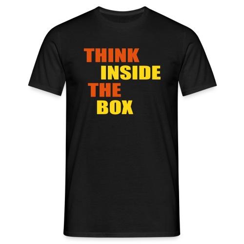 Men's T-Shirt - Think INside the box T
