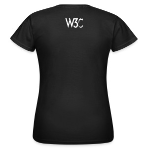 socialweb_woment_black_shirt - Women's T-Shirt