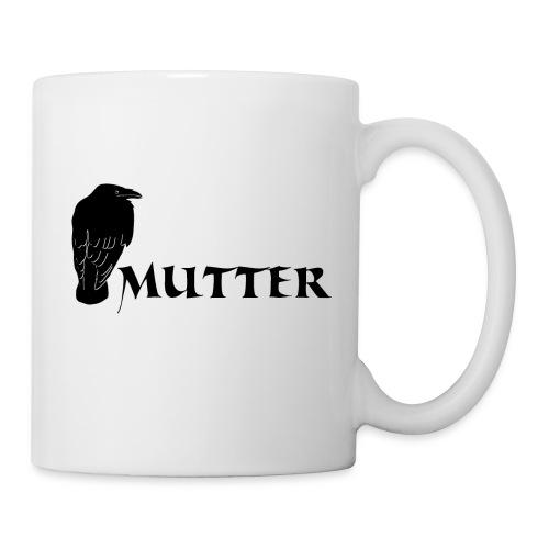 rabenmutter rabe mutter mama mami eltern gothic T-Shirts - Tasse