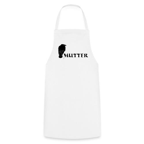 rabenmutter rabe mutter mama mami eltern gothic T-Shirts - Kochschürze