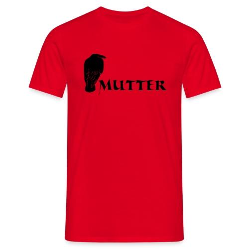rabenmutter rabe mutter mama mami eltern gothic T-Shirts - Männer T-Shirt