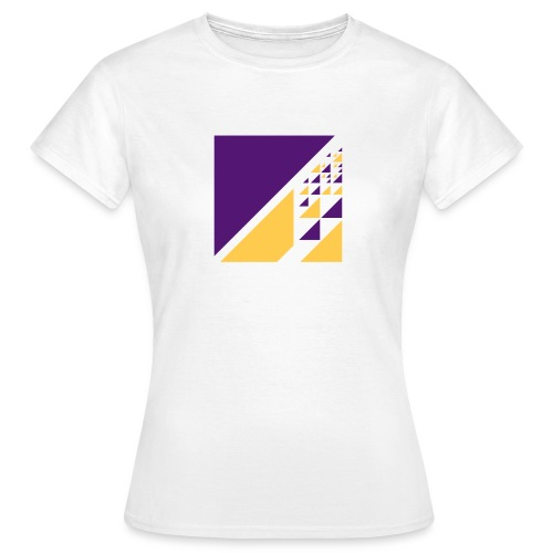 Triangles chaotique - Frauen T-Shirt