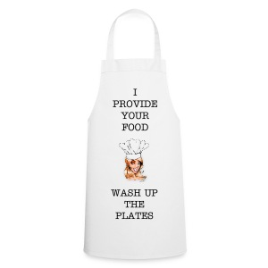 WASH UP THE PLATES - Cooking Apron