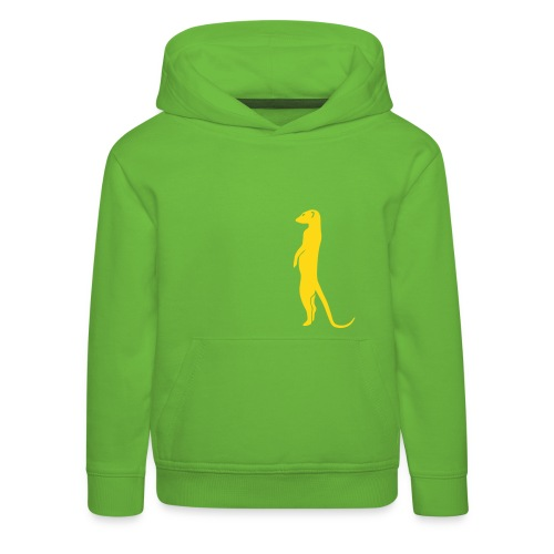 erdmännchen meerkat mond moon afrika niedlich cute T-Shirts - Kinder Premium Hoodie