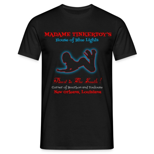 Madame Tinkertoy's Easy Rider  - Men's T-Shirt