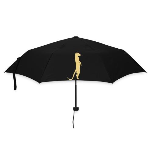 erdmännchen meerkat mond moon afrika niedlich cute T-Shirts - Regenschirm (klein)