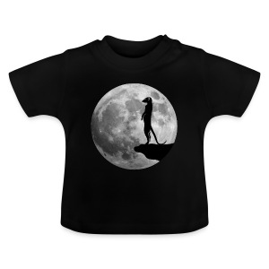 erdmännchen meerkat mond moon afrika niedlich cute T-Shirts - Baby T-Shirt