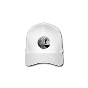 erdmännchen meerkat mond moon afrika niedlich cute T-Shirts - Flexfit Baseballkappe