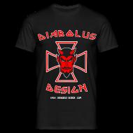 T-Shirts ~ Men's T-Shirt ~ Diabolus Design Cross T-Shirt