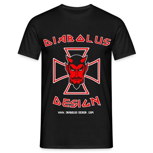 Diabolus Design Cross T-Shirt - Men's T-Shirt