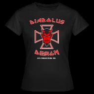 T-Shirts ~ Women's T-Shirt ~ Diabolus Design Women's Cross T-Shirt