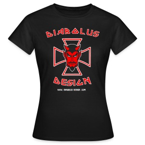 Diabolus Design Women's Cross T-Shirt - Women's T-Shirt