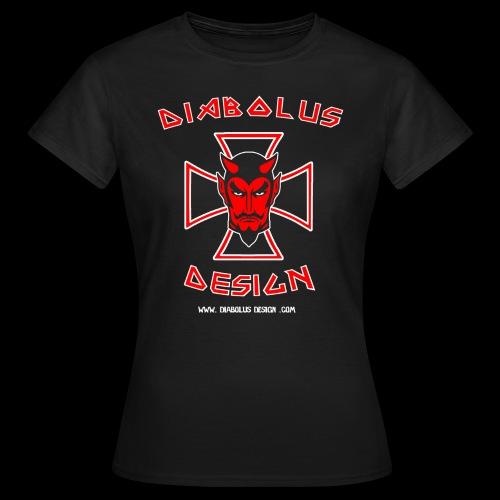 Diabolus Design Women's Cross T-Shirt - Women's T-Shirt