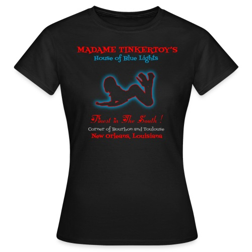 Madame Tinkertoy's Women's T-Shirt Easy Rider  - Women's T-Shirt