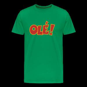 Olé! T-Shirt (Grün/Herren) Colors - Männer Premium T-Shirt