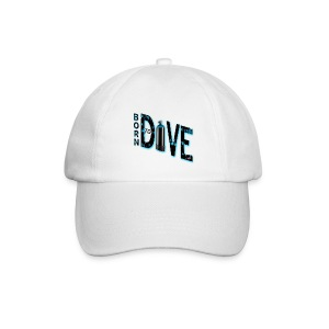 Born to dive - Baseballkappe