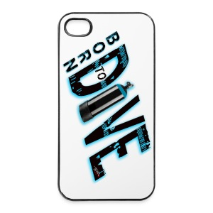 Born to dive - iPhone 4/4s Hard Case