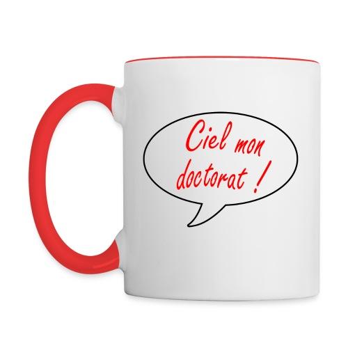 Tasse bicolore - Mug contrasté
