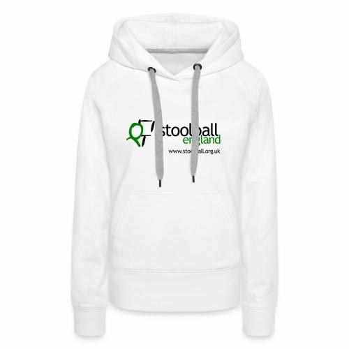 Stoolball England Women's Hoodie - Women's Premium Hoodie