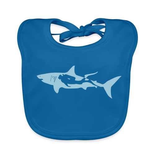 taucher hai tauchen scuba diving diver shark T-Shirts - Baby Bio-Lätzchen