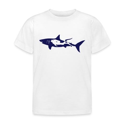 taucher hai tauchen scuba diving diver shark T-Shirts - Kinder T-Shirt
