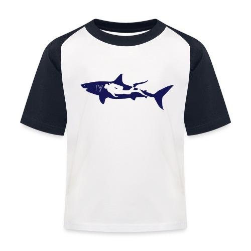 taucher hai tauchen scuba diving diver shark T-Shirts - Kinder Baseball T-Shirt