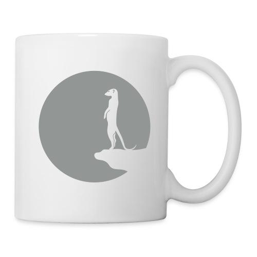 erdmännchen meerkat mond moon afrika niedlich cute T-Shirts - Tasse