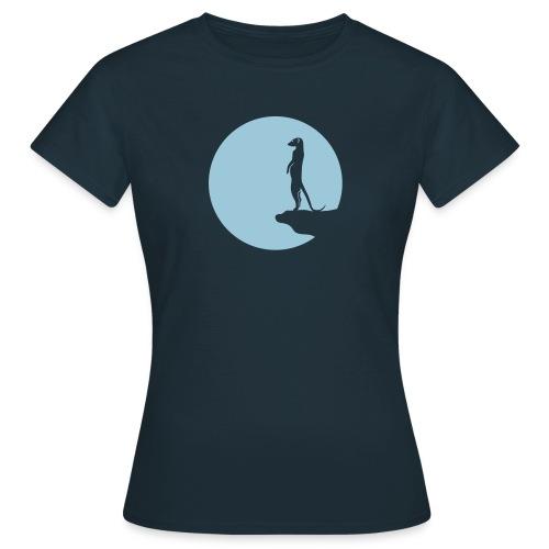 erdmännchen meerkat mond moon afrika niedlich cute T-Shirts - Frauen T-Shirt