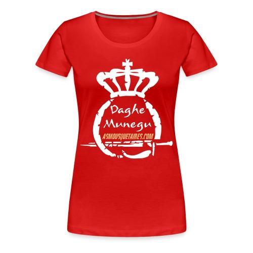 Tshirt Femme Logo Munegu - T-shirt Premium Femme