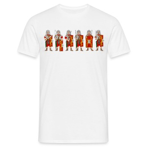 Roman Soldiers (Front) - Men's T-Shirt