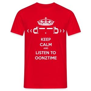 Keep Calm Oonztime - Men's T-Shirt