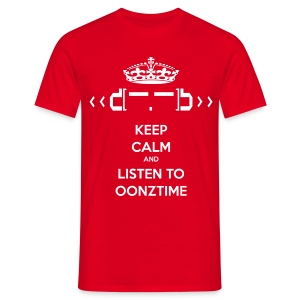 Keep Calm Oonztime - Men's T-Shirt