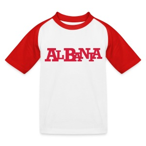 ALBANIA #10 - Kinder Baseball T-Shirt