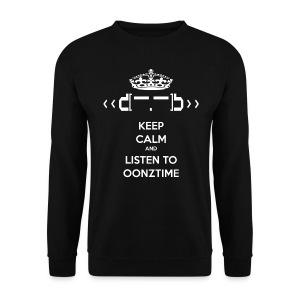 Keep Calm Oonztime LS Man - Men's Sweatshirt