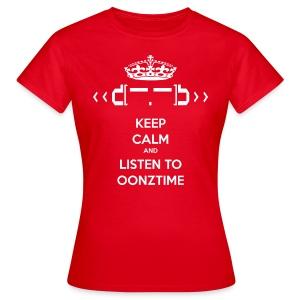 Keep Calm Oonztime TS Woman - Women's T-Shirt