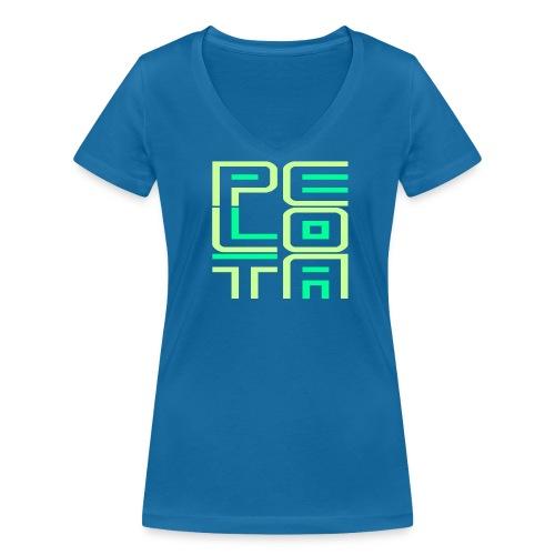 Mexico Chica Pelota  - Vrouwen bio T-shirt met V-hals van Stanley & Stella