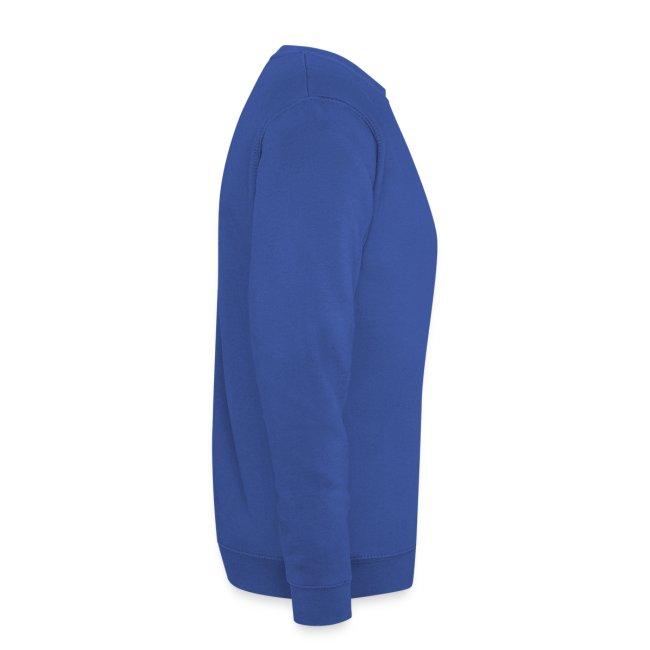 Sweat-shirt Bleu-Jaune